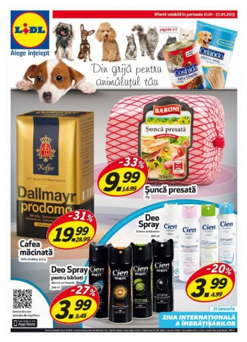 Catalog lidl oferte promotionale 21 27 ianuarie infoo for Cataleg lidl