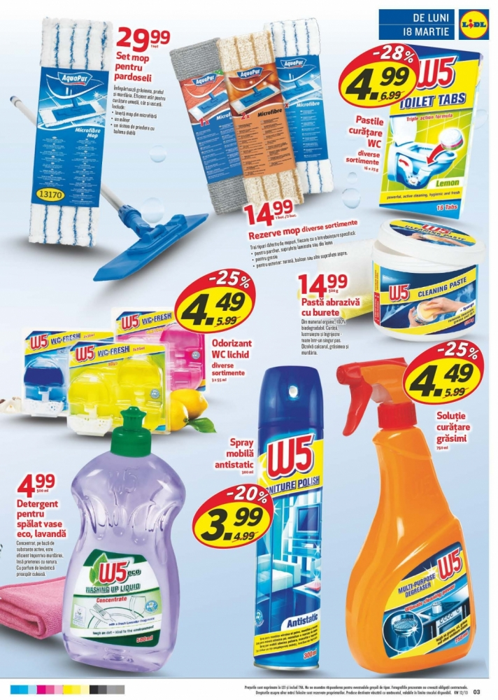 Catalog lidl oferte promotionale 18 24 martie infoo for Cataleg lidl