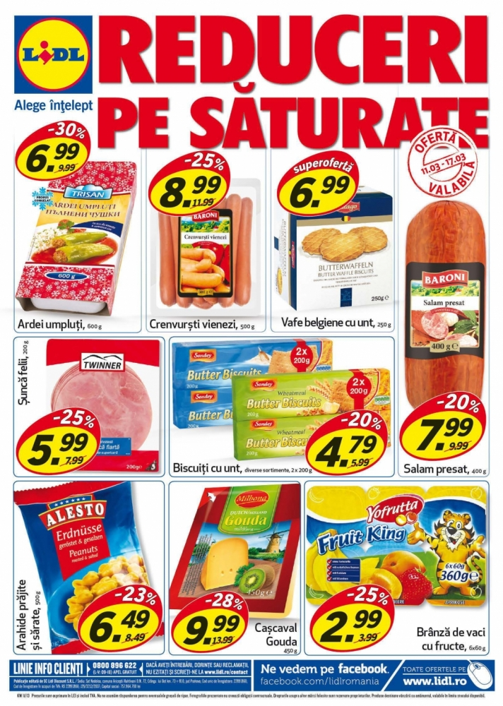 Catalog lidl oferte promotionale 11 17 martie infoo for Cataleg lidl