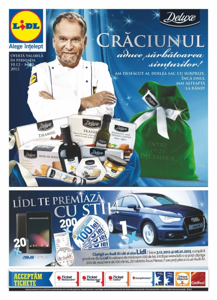 Catalog lidl oferte promotionale 10 16 decembrie infoo for Cataleg lidl