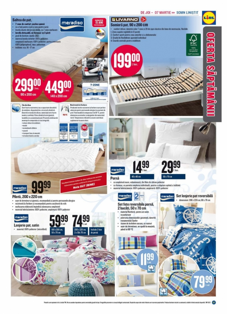 Catalog lidl oferta promotionala 4 10 martie infoo for Cataleg lidl
