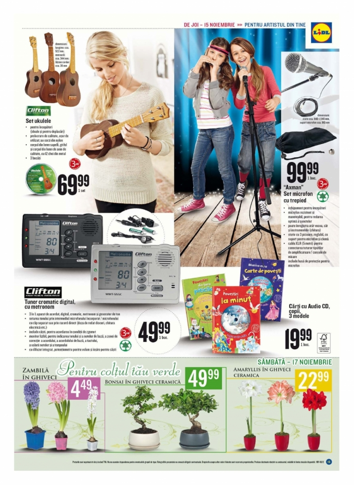 Catalog lidl romania for Cataleg lidl