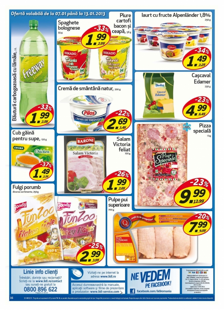 Catalog lidl oferte promotionale 07 13 ianuarie 2013 for Cataleg lidl