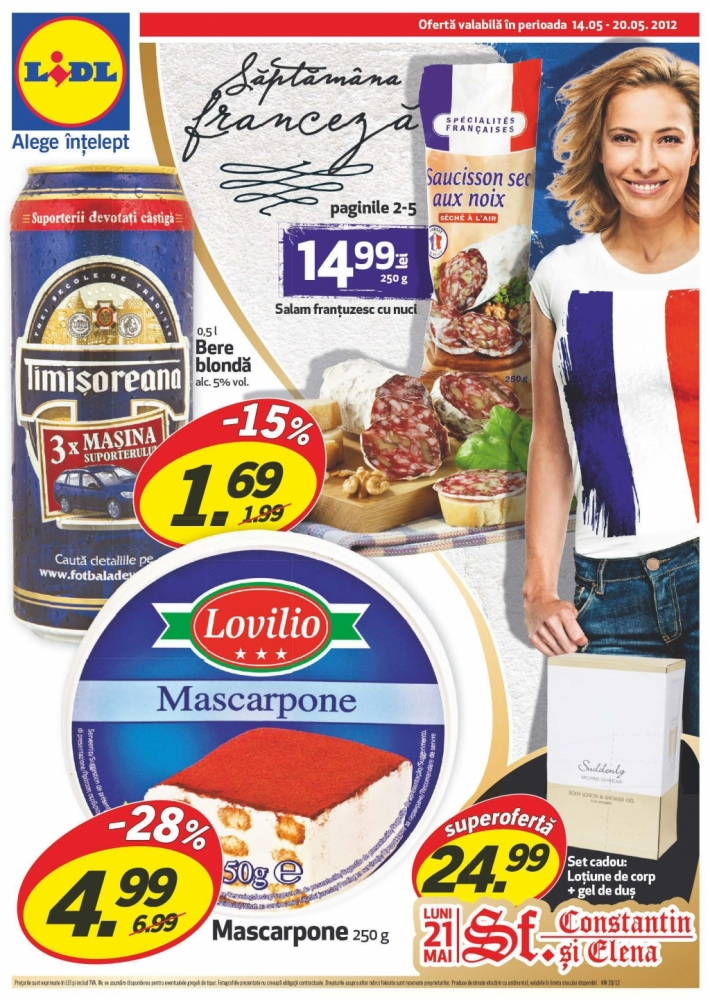 Catalog revista lidl promotii oferta 14 20 mai 2012 for Cataleg lidl